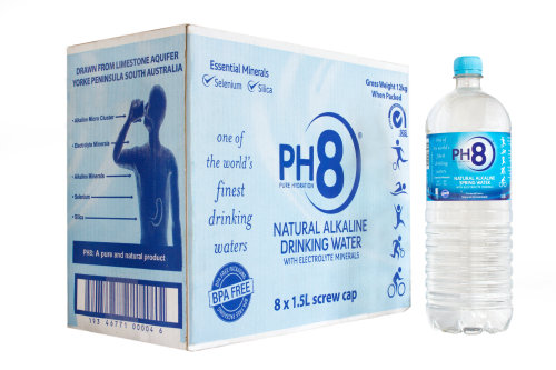Ph8 Natural Alkaline Water Finewaters
